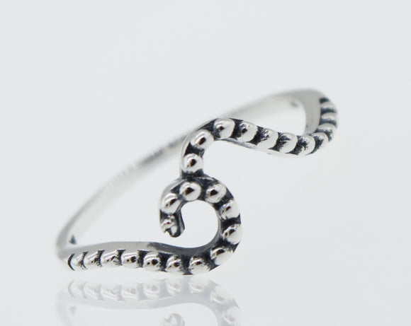 Dotted Wave Ring