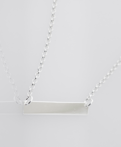 Simple and Dainty Nameplate Necklace