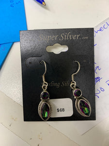 Mystic topaz earrings for Special order