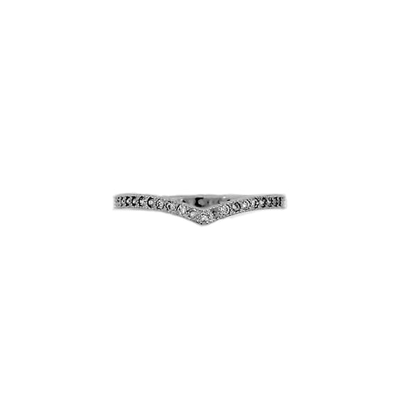 Pavé Chevron Ring