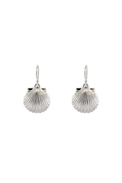 Sterling Sea Shells Earrings