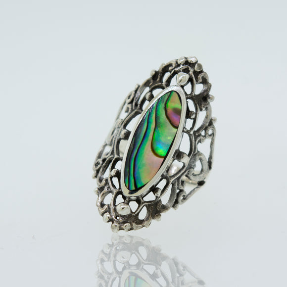 Freestyle Abalone Ring
