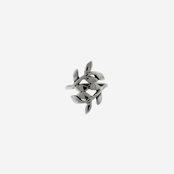 Sterling Silver Olive Branch Ring