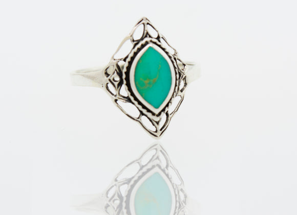 Turquoise Marquise Shape Ring