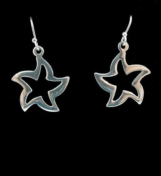 Star Shape Dangle Earrings