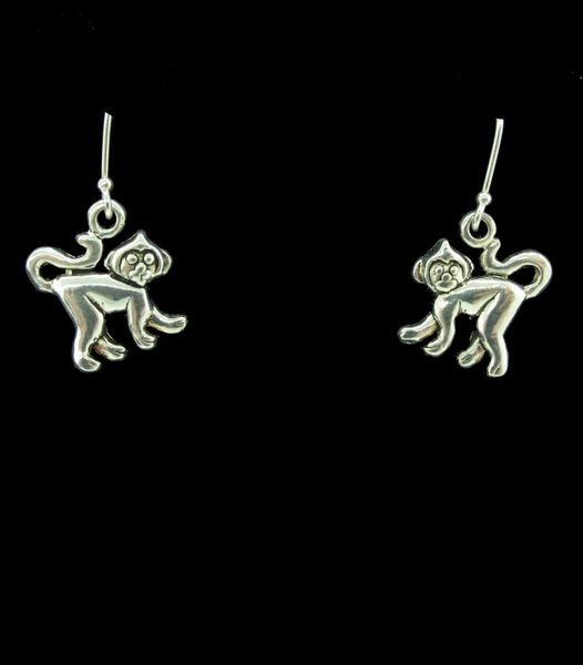Monkey Dangle Earrings