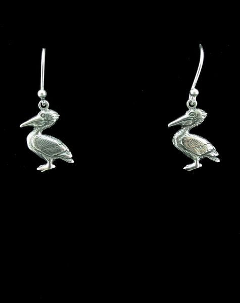 Pelican Dangle Earrings