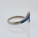 Blue Opal Wave Band