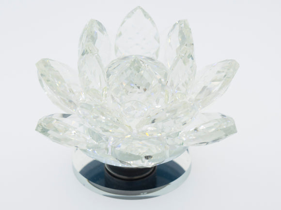 Crystal Lotus Stand