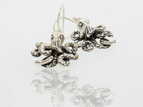 Designer Octopus Earrings
