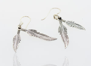 Western Inspired Feather Earrings
