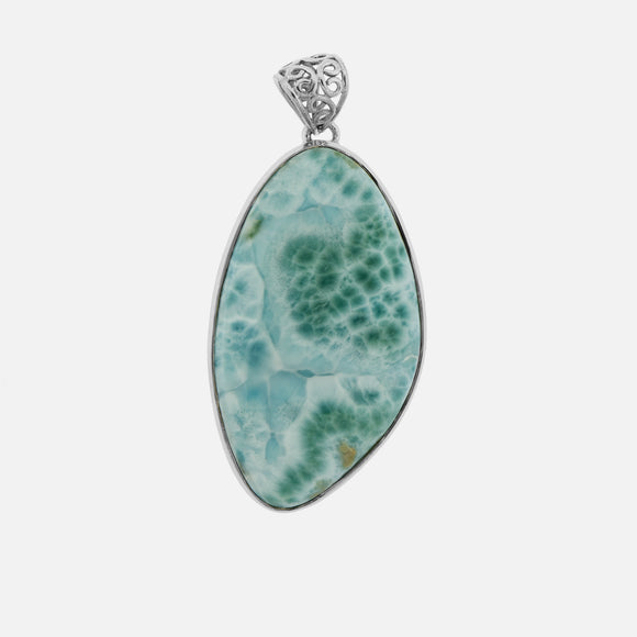 Larger Larimar Pendant