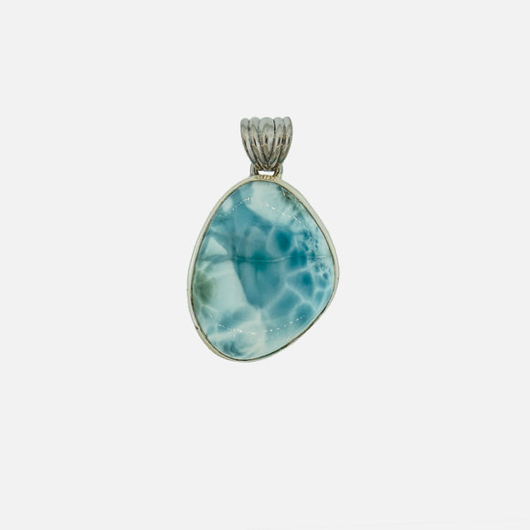 Medium Larimar Pendant