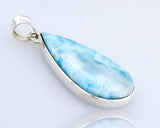Larger Teardrop Larimar Pendant