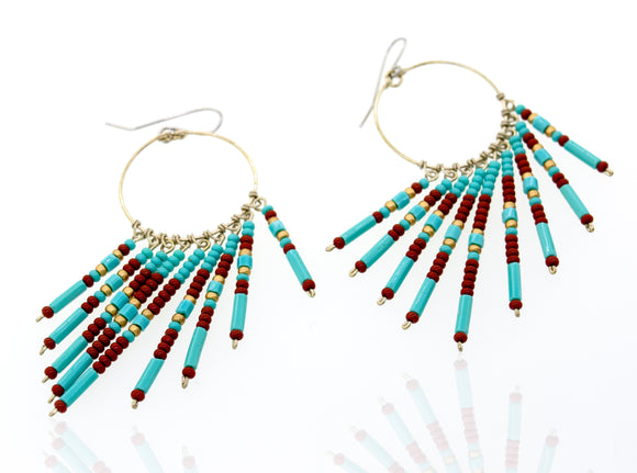 Southwest Beaded Earrings