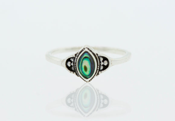 Beautiful and Delicate Abalone Ring