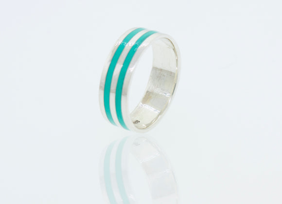 Heavy Turquoise Band