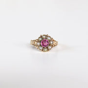 Antique Amethyst Ring