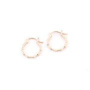 Bamboo Hoops (pair)