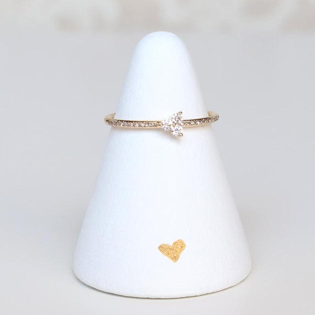 Diamond Tripod Ring