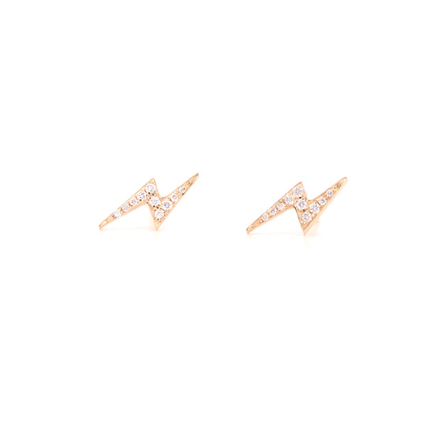 Diamond Lightning Studs