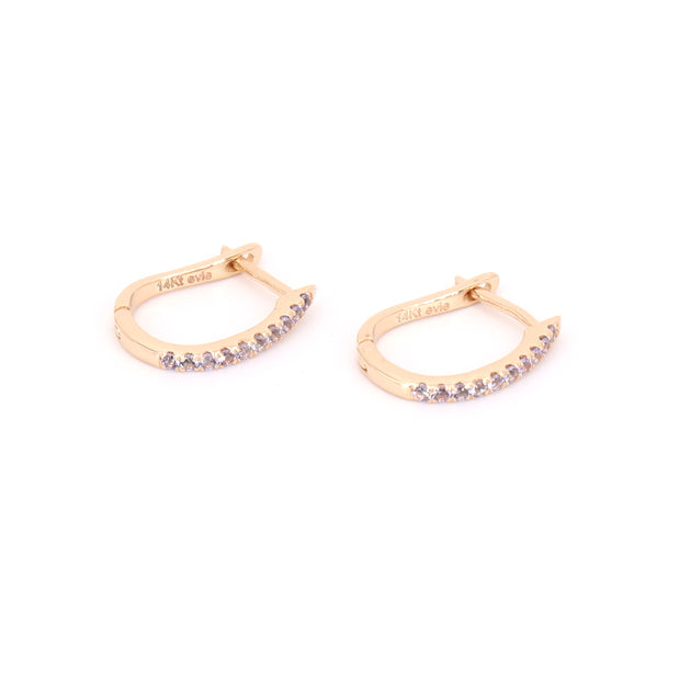 Tanzanite Hoops (pair)