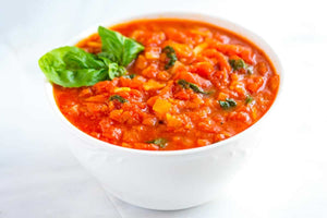 Tomato and Carrot Marinara Sauce -- with a few changes to make it high in Omega-3s