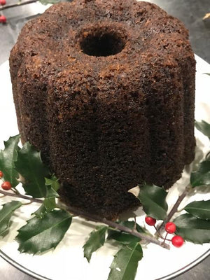 Christmas Persimmon Pudding -- the High Omega-3 version