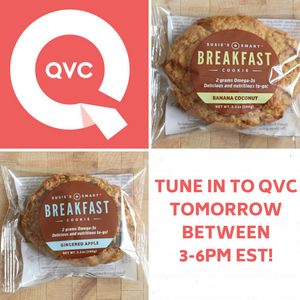 Susie's Smart Breakfast cookies on QVC!!
