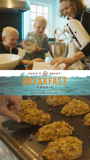 A High Omega-3 Breakfast Cookie you can bake at Home