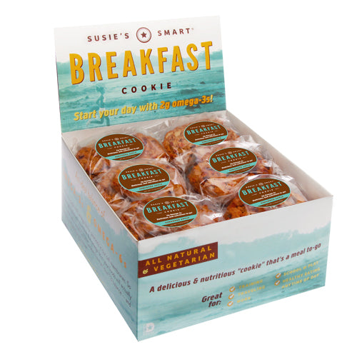 A Month's supply of Breakfast Cookies (72) -- with a few leftover for your friends. A 25% Savings