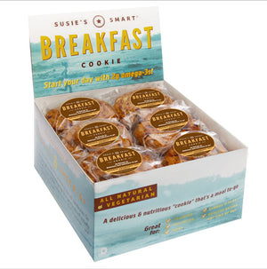 Display Box of 18 Orange Cranberry Nut Breakfast Cookies (the original)