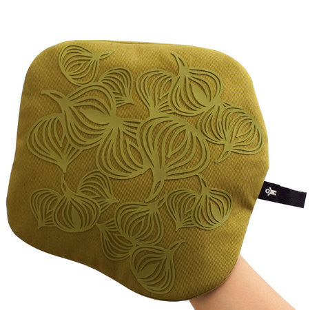 3-in-1 Non-slip Potholder & Trivet, Olive Green