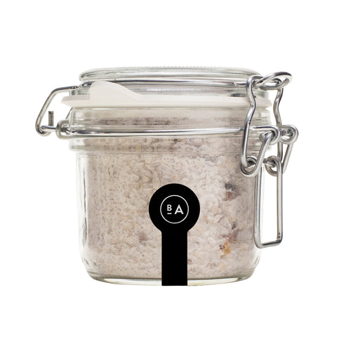 Badeanstalten Bath Salt (in glass jar) - Bed of Roses, 300g