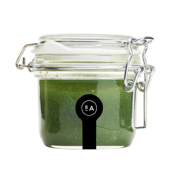 Badeanstalten Salt Scrub (in glass jar) - Hope, 275g