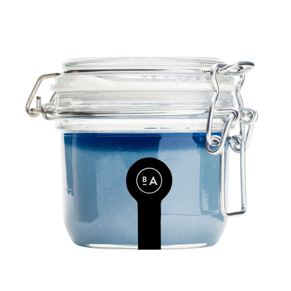 Badeanstalten Salt Scrub (in glass jar) - Luna, 275g