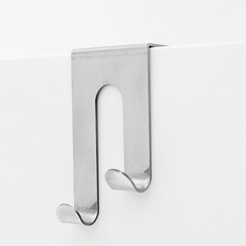 Double J Cabinet Hook, Stainless Steel (1 per pack)