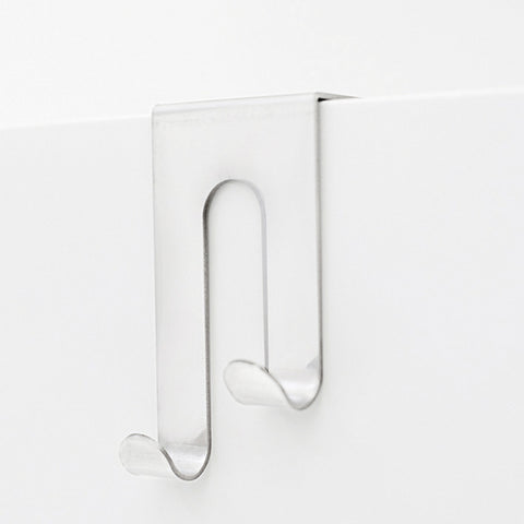 Double J Cabinet Hook, White (1 per pack)