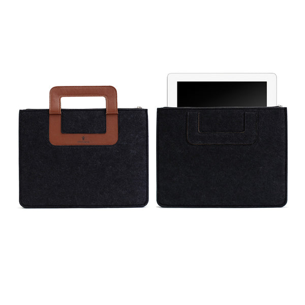 iPad Carrying sleeve, Solid - Black