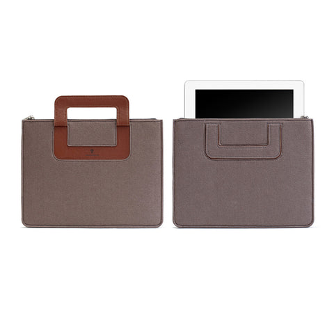 iPad Carrying sleeve, Solid - Chestnut