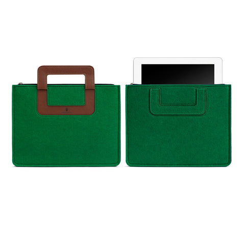 iPad Carrying sleeve, Solid - Forest Green