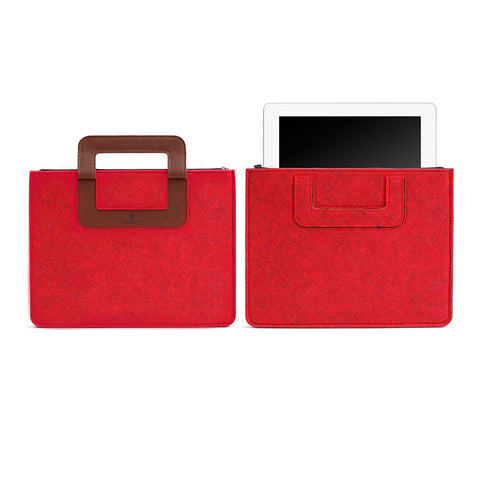 iPad Carrying sleeve, Solid - Red