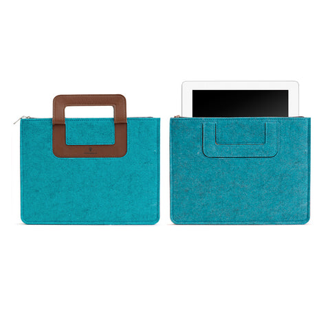 iPad Carrying sleeve, Solid - Turquoise