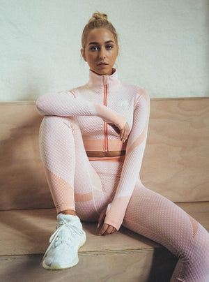 TITAN LEGGINGS - PEACH