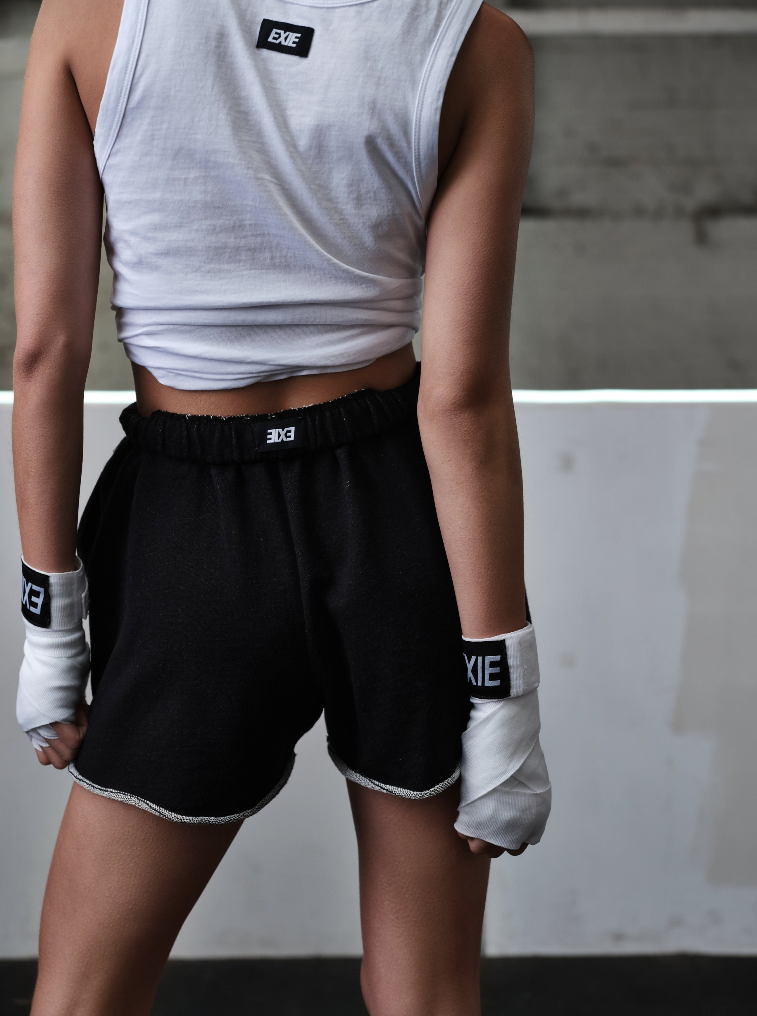 EXIE BOXING WRAPS - WHITE