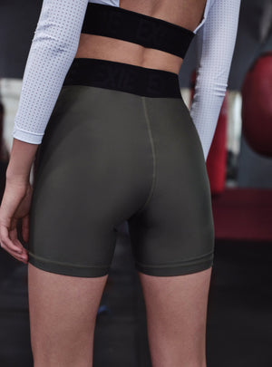 BIKE SHORTS - KHAKI