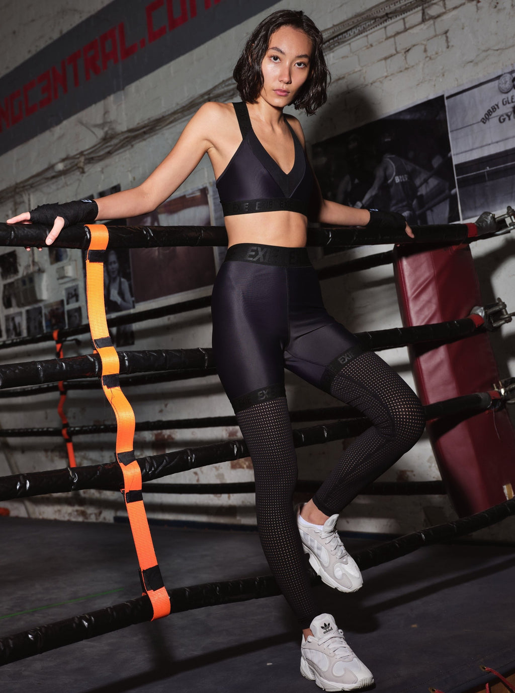OXYGEN LEGGING - BLACK