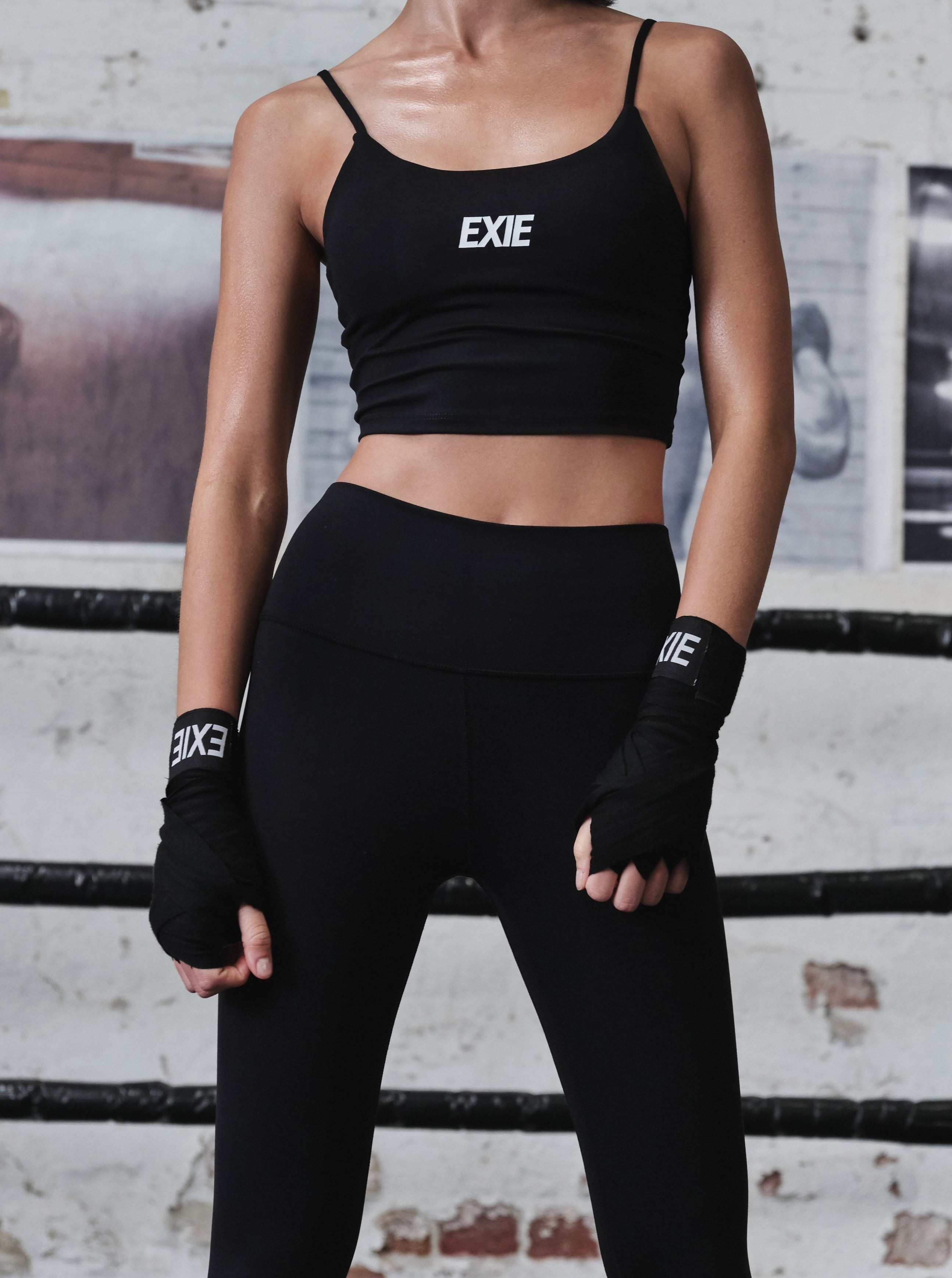 EXIE BOXING WRAPS - BLACK
