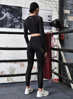 TRACK LEGGING - BLACK