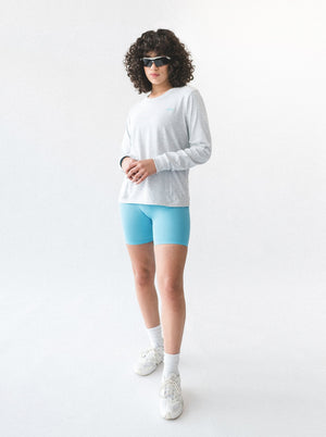 AERO TOP - GREY MARLE